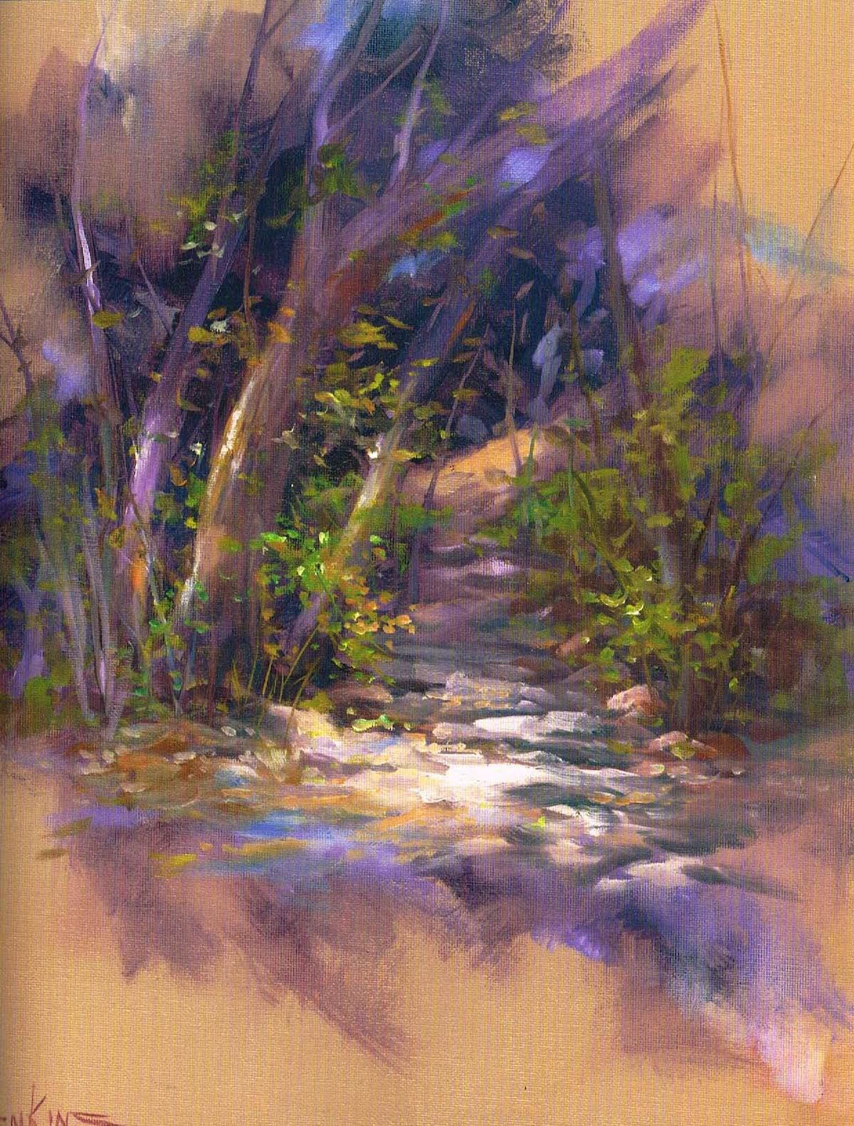 Impressionistic landscape Gary Jenkins